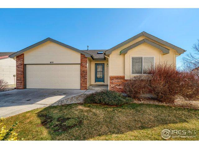 651 Radiant Dr, Loveland, CO 80538 (MLS #844820) :: 8z Real Estate