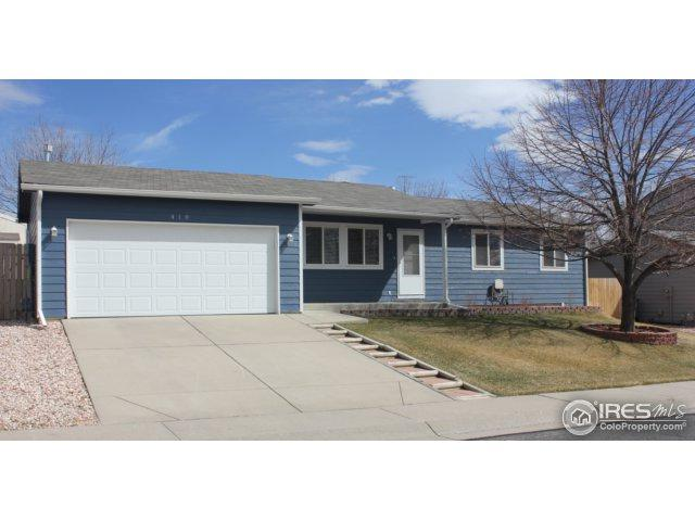 410 Mallard Dr, Severance, CO 80550 (MLS #844874) :: The Daniels Group at Remax Alliance