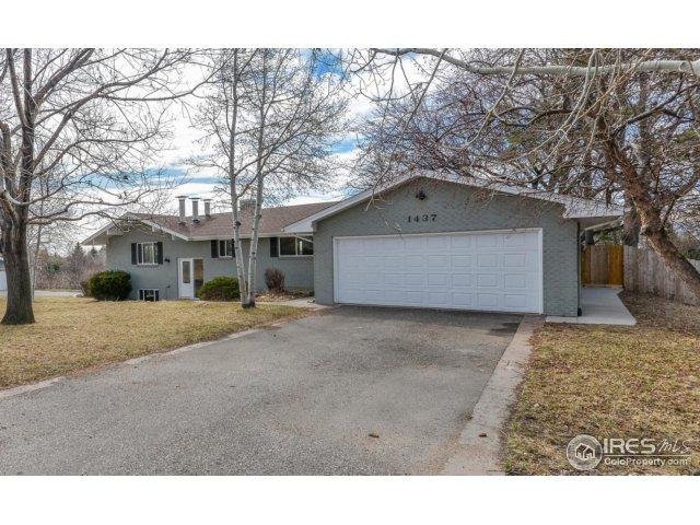 1437 Country Club Rd, Fort Collins, CO 80524 (#844891) :: The Peak Properties Group