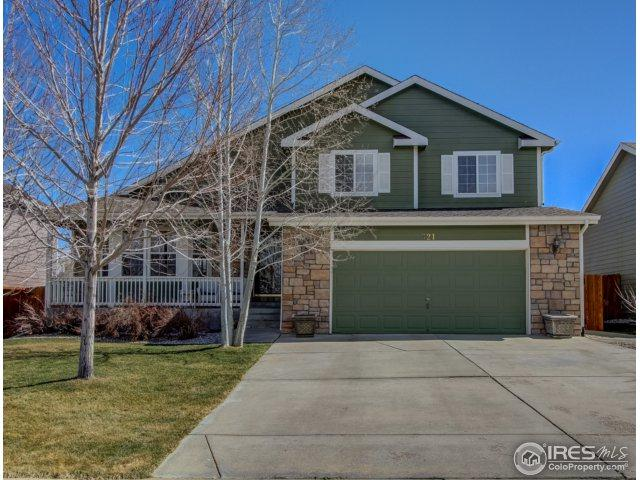 321 Gypsum Ln, Johnstown, CO 80534 (MLS #844928) :: The Daniels Group at Remax Alliance