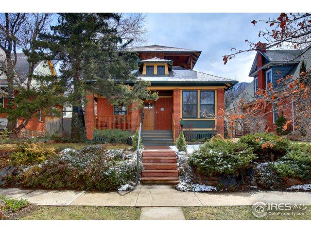 836 University Ave, Boulder, CO 80302 (#844938) :: The Peak Properties Group
