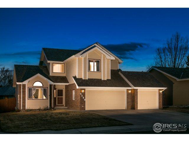 4280 W 15th St Ln, Greeley, CO 80634 (#844989) :: The Peak Properties Group