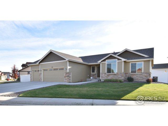 332 Telluride Dr, Windsor, CO 80550 (MLS #845035) :: The Daniels Group at Remax Alliance