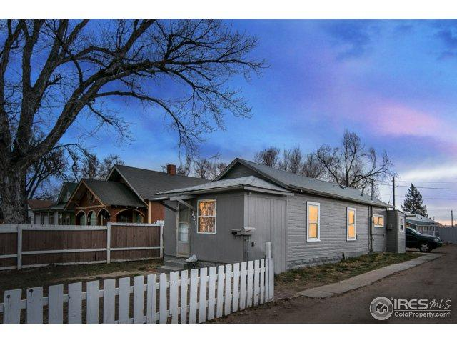 221 10th St, Greeley, CO 80631 (MLS #845103) :: The Lamperes Team