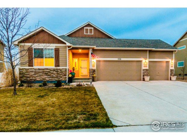 338 Sycamore Ave, Johnstown, CO 80534 (#845650) :: The Peak Properties Group