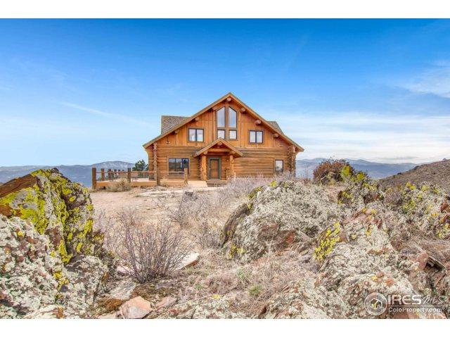 9205 Gold Mine Rd, Loveland, CO 80538 (#845684) :: The Peak Properties Group