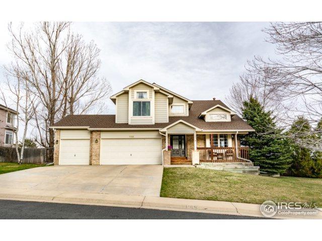 1155 W Enclave Cir, Louisville, CO 80027 (#845901) :: The Peak Properties Group