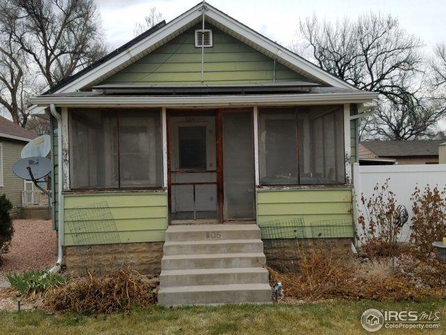 805 40th St, Evans, CO 80620 (#846142) :: The Peak Properties Group