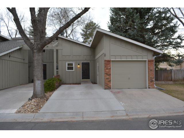 3025 Marina Ln #1, Fort Collins, CO 80525 (MLS #846196) :: Downtown Real Estate Partners