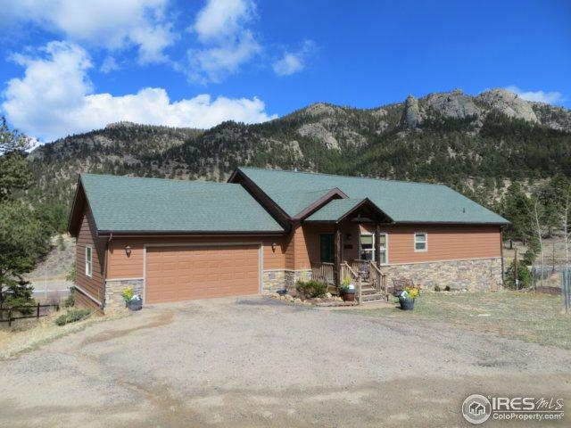 2730 Wildwood Dr, Estes Park, CO 80517 (#846610) :: The Peak Properties Group