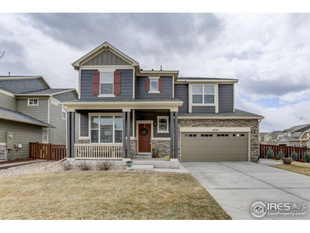 6737 Rock River Rd, Timnath, CO 80547 (#846652) :: The Peak Properties Group