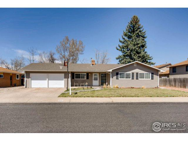 205 W 50th St, Loveland, CO 80538 (#846944) :: The Peak Properties Group