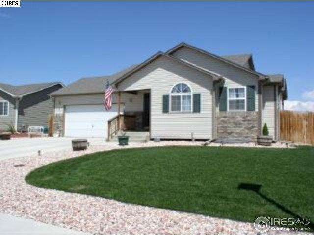 2503 Wharf St, Evans, CO 80620 (#847136) :: The Peak Properties Group