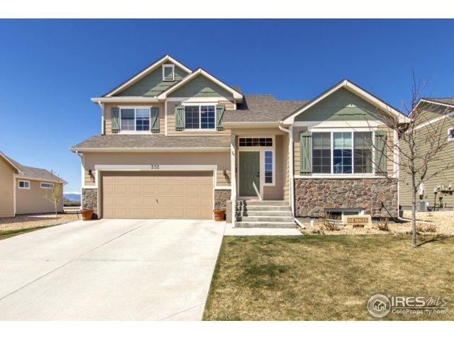 332 Sycamore Ave, Johnstown, CO 80534 (MLS #847619) :: Kittle Real Estate