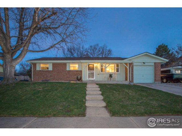 1352 W 103rd Ave, Northglenn, CO 80260 (#847655) :: The Griffith Home Team