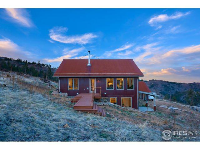 805 Melvina Hill Rd, Boulder, CO 80302 (MLS #847895) :: 8z Real Estate