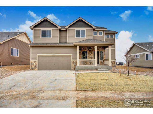 544 El Diente Ave, Severance, CO 80550 (#848033) :: The Peak Properties Group