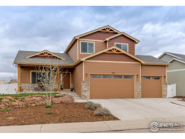 380 Saratoga Way, Windsor, CO 80550 (MLS #848046) :: The Forrest Group