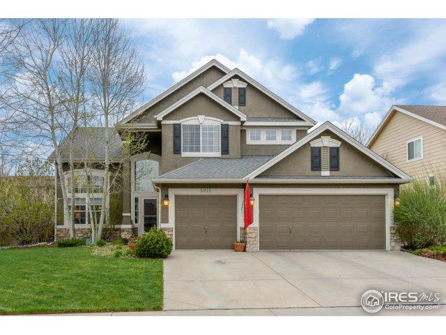 5915 Huntington Hills Dr, Fort Collins, CO 80525 (#848077) :: The Peak Properties Group