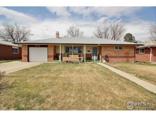 823 27th Ave, Greeley, CO 80634 (#848125) :: The Peak Properties Group
