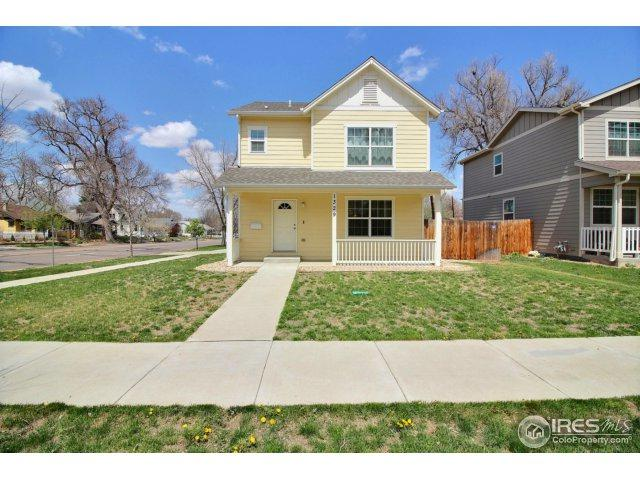 1329 13th St, Greeley, CO 80631 (MLS #848556) :: The Lamperes Team