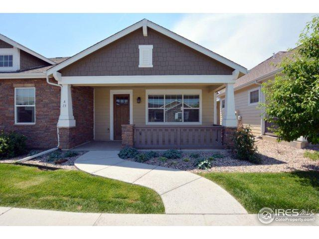 4751 Pleasant Oak Dr A13, Fort Collins, CO 80525 (MLS #848961) :: The Lamperes Team