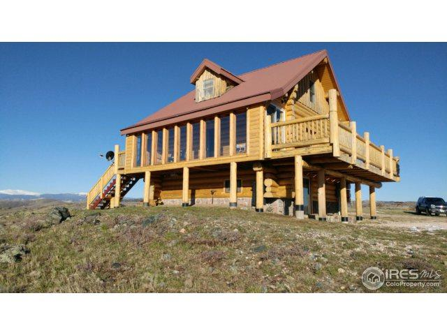 1675 Hewlett Gulch Rd, Livermore, CO 80536 (MLS #849105) :: Kittle Real Estate