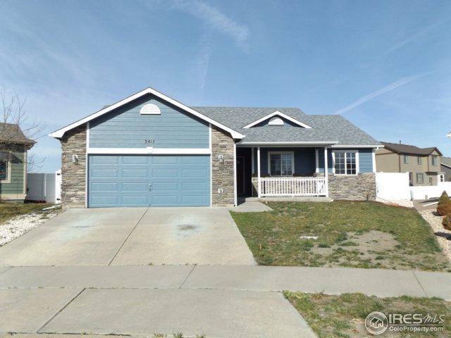 3415 Riesling Ct, Evans, CO 80634 (MLS #849421) :: Kittle Real Estate