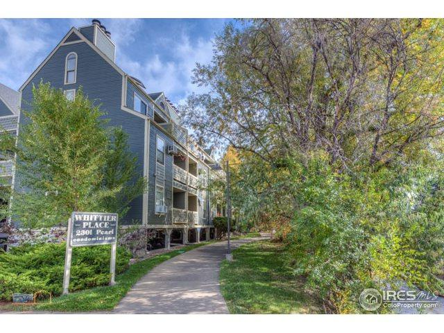 2301 Pearl St #28, Boulder, CO 80302 (MLS #850312) :: The Lamperes Team