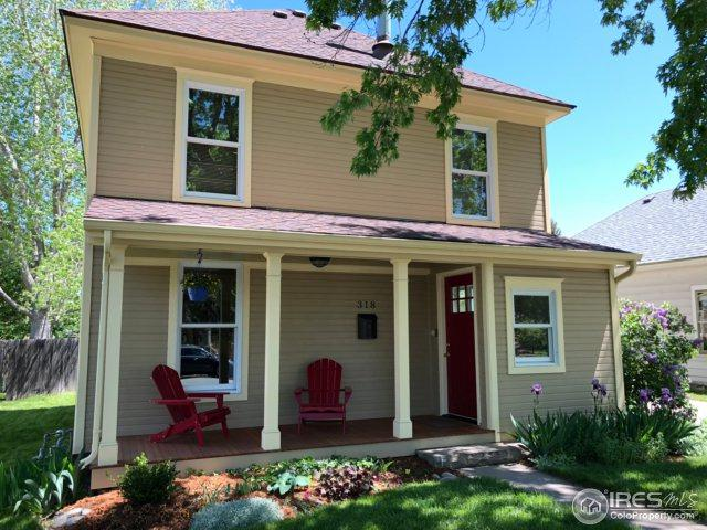 318 N Sherwood St, Fort Collins, CO 80521 (#850486) :: The Griffith Home Team
