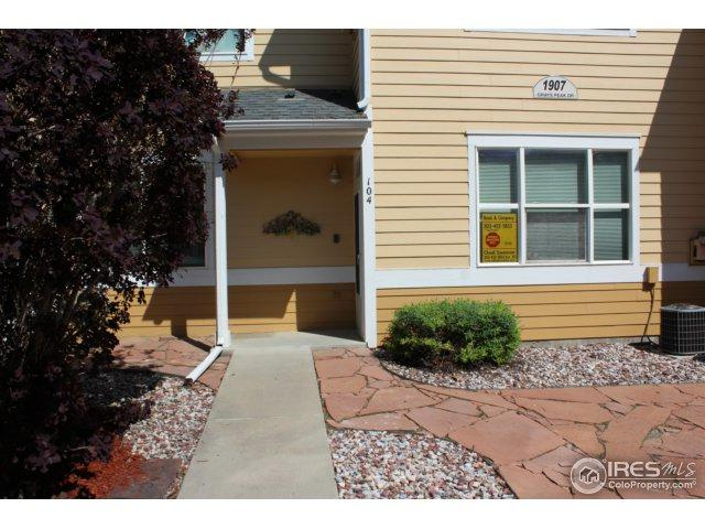 1907 Grays Peak Dr #104, Loveland, CO 80538 (MLS #850732) :: The Daniels Group at Remax Alliance