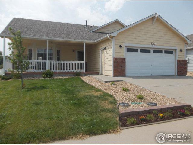 3313 Grenache St, Evans, CO 80634 (MLS #850801) :: Kittle Real Estate