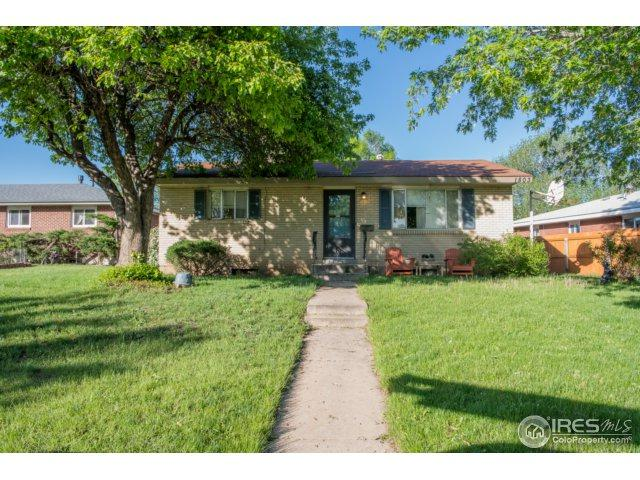 1803 26th St, Greeley, CO 80631 (MLS #851058) :: Kittle Real Estate