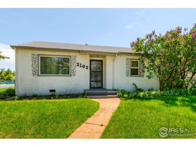 2102 8th St, Greeley, CO 80631 (MLS #851078) :: Kittle Real Estate