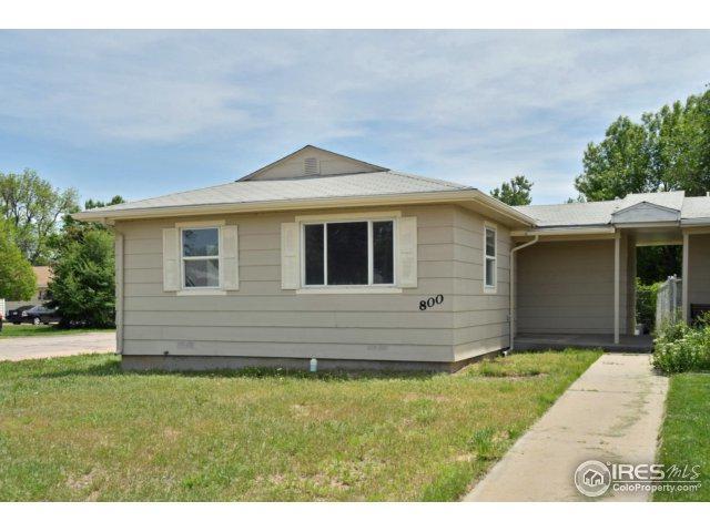 800 37th St, Evans, CO 80620 (MLS #851131) :: Kittle Real Estate