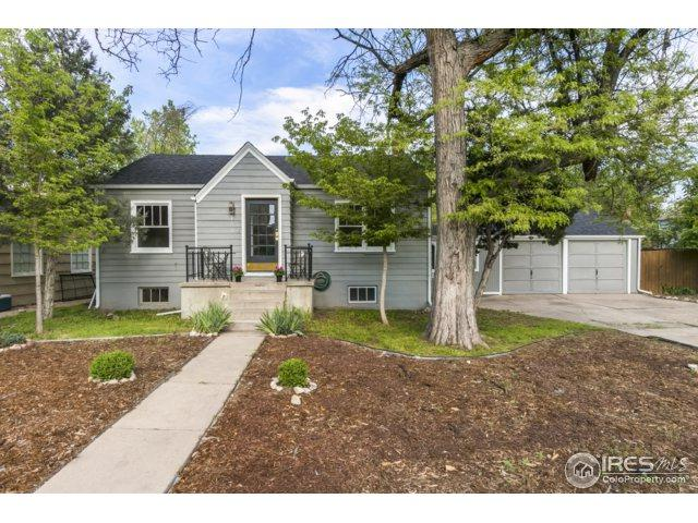 1536 14th Ave, Greeley, CO 80631 (MLS #851155) :: The Daniels Group at Remax Alliance
