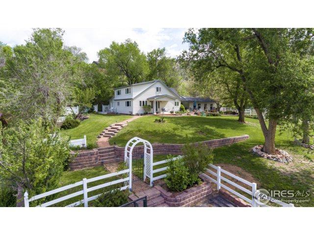 208 Seward St, Lyons, CO 80540 (#851340) :: The Peak Properties Group