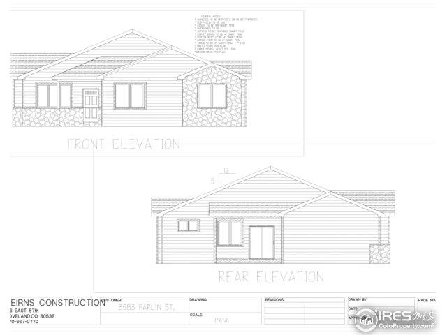 3583 Parlin St, Loveland, CO 80538 (MLS #851394) :: Downtown Real Estate Partners