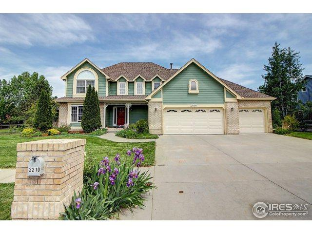 2210 Summitview Dr, Longmont, CO 80504 (MLS #851455) :: The Daniels Group at Remax Alliance
