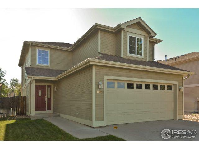 541 3rd St, Mead, CO 80542 (MLS #852312) :: Kittle Real Estate