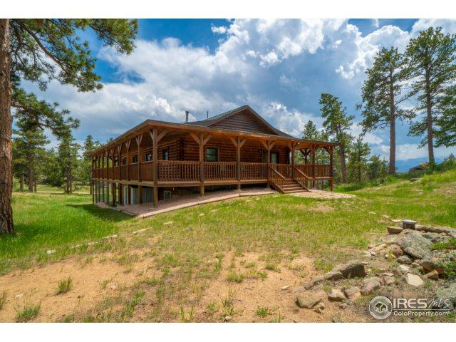 480 Manhead Mountain Dr, Livermore, CO 80536 (MLS #852747) :: The Lamperes Team