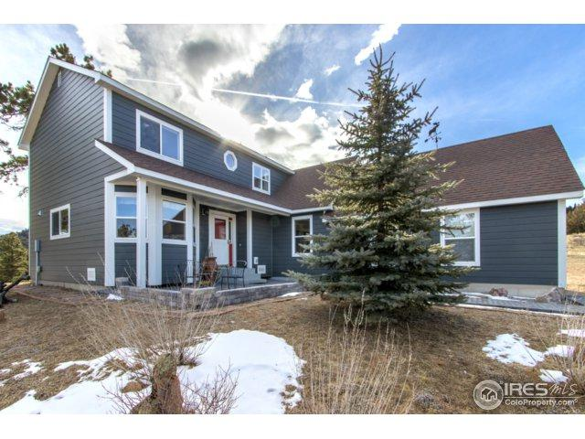 581 Cucharas Mountain Dr, Livermore, CO 80536 (MLS #853039) :: Kittle Real Estate