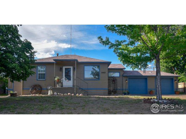 2403 W C St, Greeley, CO 80631 (MLS #853105) :: The Daniels Group at Remax Alliance