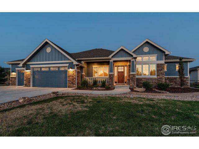 1414 Red Fox Cir, Severance, CO 80550 (MLS #853120) :: Kittle Real Estate