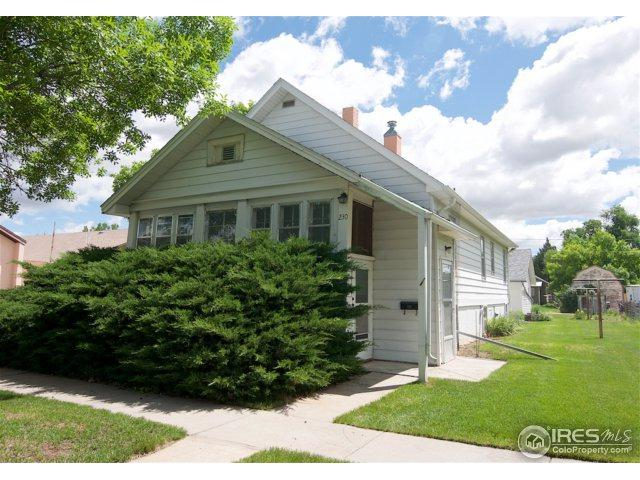 230 N 8th Ave, Sterling, CO 80751 (#853610) :: The Griffith Home Team