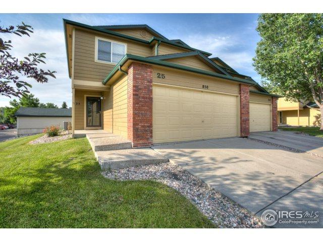 850 S Overland Trl #25, Fort Collins, CO 80521 (MLS #853614) :: The Daniels Group at Remax Alliance