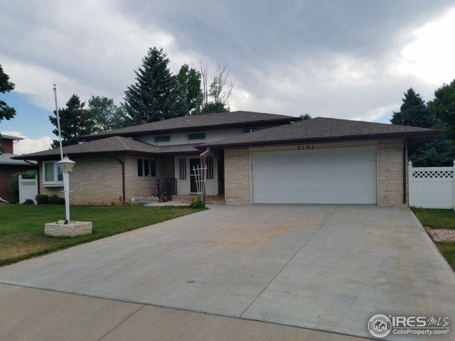 2161 Buena Vista Dr, Greeley, CO 80634 (MLS #853671) :: Kittle Real Estate