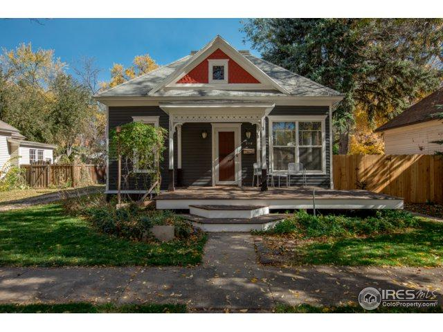 318 S Sherwood St, Fort Collins, CO 80521 (MLS #854601) :: The Daniels Group at Remax Alliance