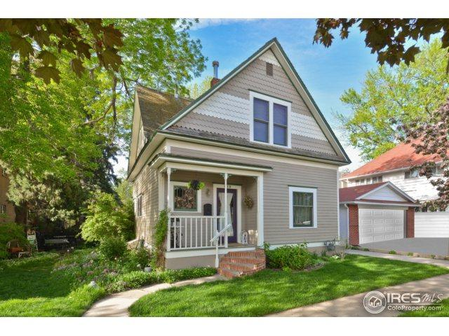 819 6th Ave, Longmont, CO 80501 (MLS #855535) :: The Daniels Group at Remax Alliance