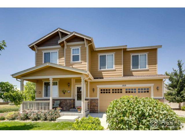 1512 Lasalle Way, Longmont, CO 80504 (MLS #856240) :: The Daniels Group at Remax Alliance